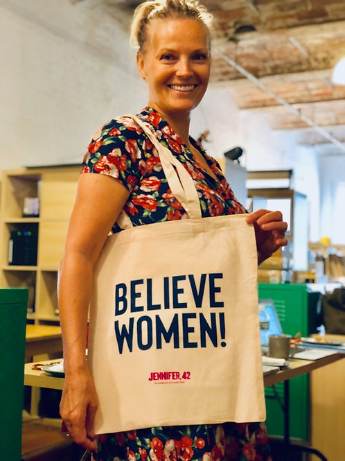 Believe Women! Tote Bag!