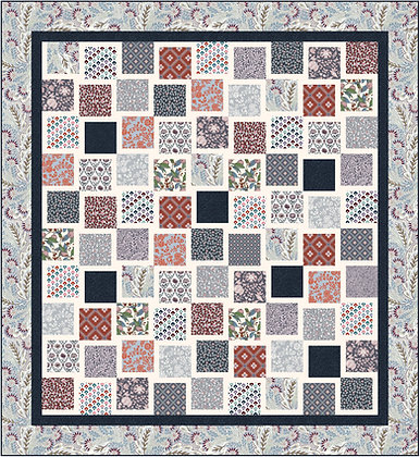Summer House Quilt Pattern liberty of london