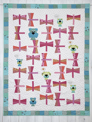 Claire Turpin Dragonflies Pick and Mix Quilt Pattern
