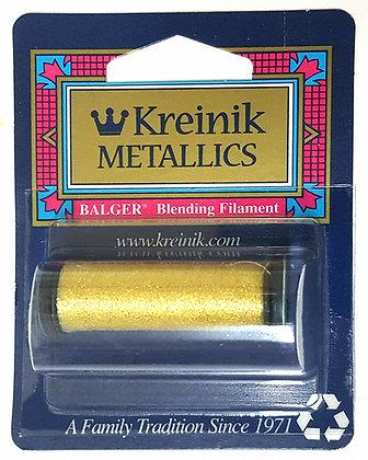 Kreinik Metallics Blending Filament Yellow