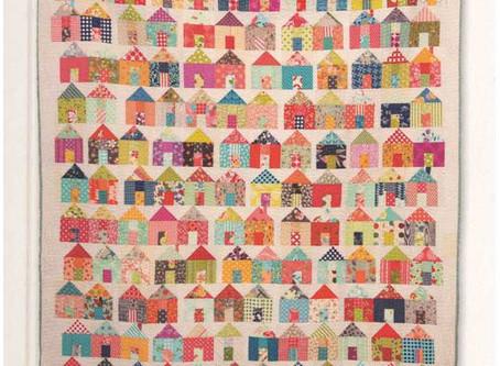 Free Village Quilt Pattern from Moda Fabrics!