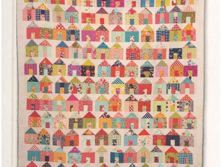 Free Village Quilt Pattern from Moda Fabrics!