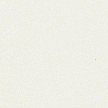 Moda Muslin Mates French Swirl Off White/cream 9937-13