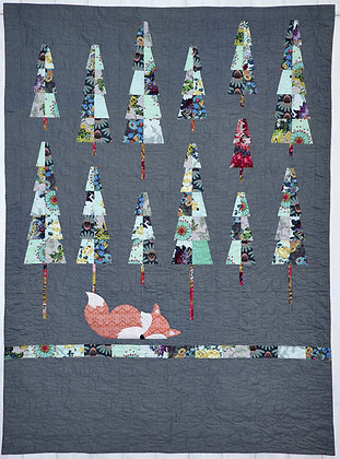 Claire Turpin Trees Pick and Mix Quilt Pattern