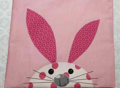 Free Peek-a-Boo Bunny  Bag