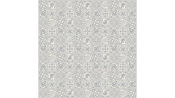 Liberty of London The Emporium Collection Argyll Tile 5909C