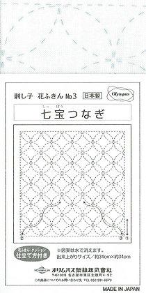 Olympus white sashiko panel 3
