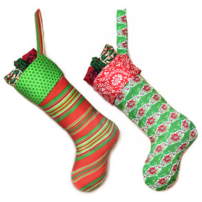 12 Weeks of Christmas Free Christmas Stocking Pattern