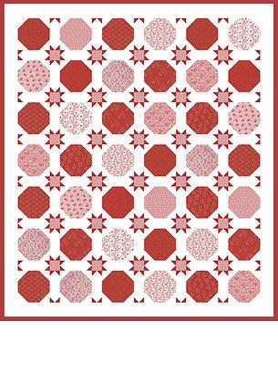Hexagons & Stars Quilt Kit
