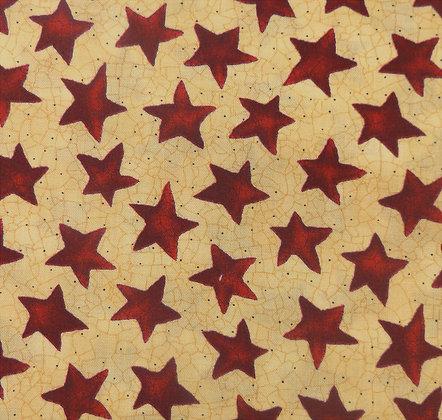 Moda Fabrics Abundance Kathy Schmitz 5894-34 Australia Melbourne Fabric Cream Stars