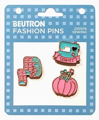 Beutron Fashion Enamel Pins Sewing