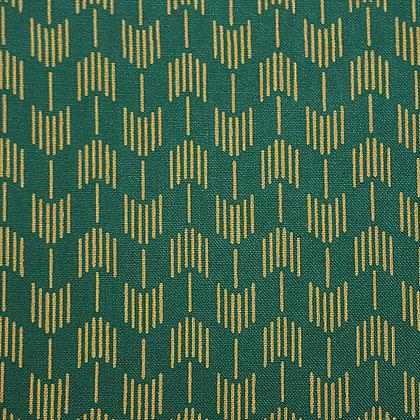 Japanese Prints Kasuri Turquoise-Green 2310-2B