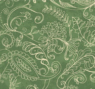 Dotty Paisley Green  - Wide Back