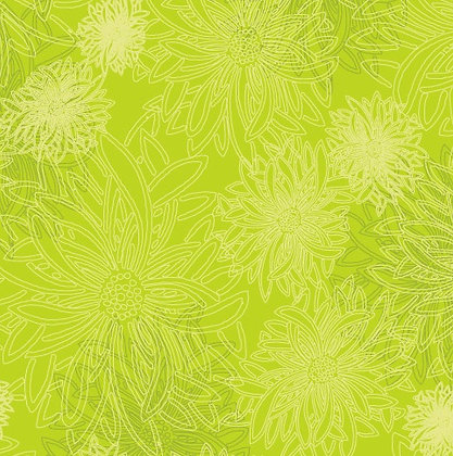 Floral Elements Kiwi Art Gallery Studio Fabrics