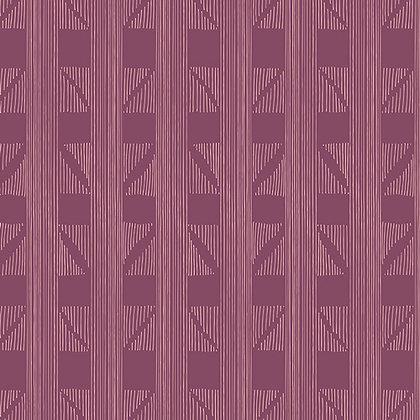 Fleet and Flourish Expanded Arm Violet Art Gallery Studio Fabrics