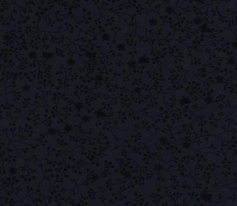 black flutter fabric wide back