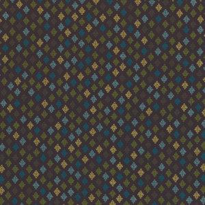 Michael Miller Stitch Diamonds C3164 Cocoa D