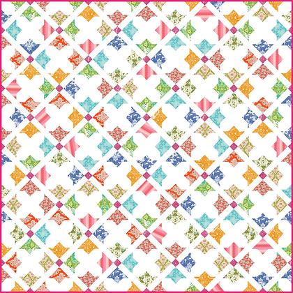 Tilda evergreen quilt pattern