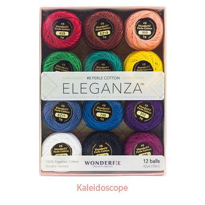 Eleganza #8 Perle Cotton Kaleidoscope Box Set