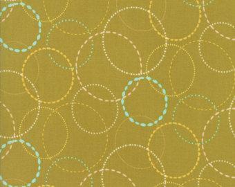 Moda Fabrics Wing & Leaf Gina Martin 10066-12