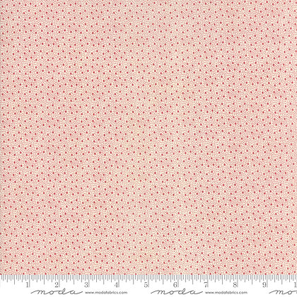 Holly Woods 3 Sisters 44177-21 Red dots on Cream moda fabrics