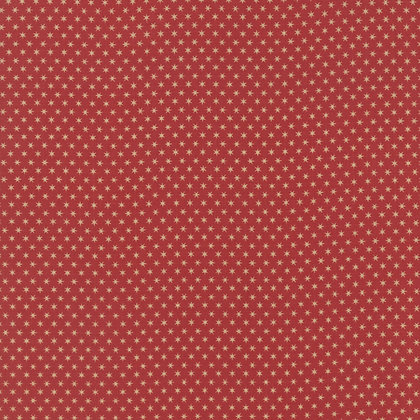 Moda Fabric Jan Patek Fern Hill Red 2184-12