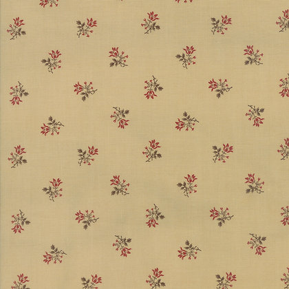 Moda Fabrics Sweet Cherry Wine Basket Cherry Blackbird Designs  2785-16