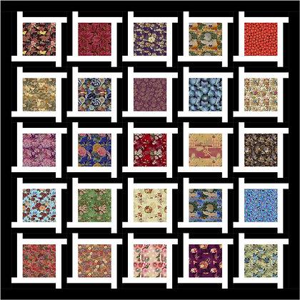 Asian Twist Quilt Pattern