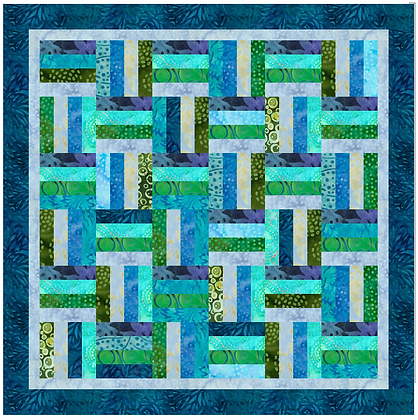 Batik Dream Quilt Pattern