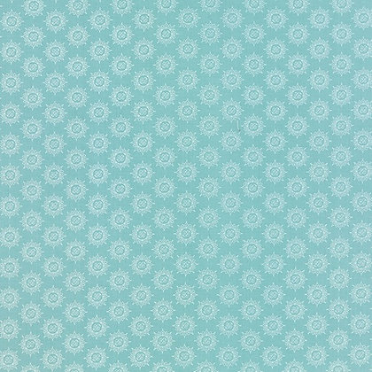 Moda Feed Company 5574-12  Australia Melbourne Fabric Blue White
