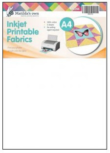 Inkjet Printable Fabrics