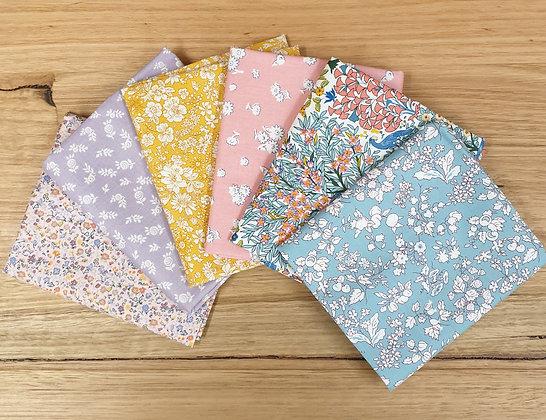 Liberty of London Fabric Bundle English Garden Orchard Garden