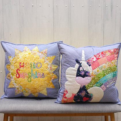 Claire Turpin Hello Sunshine Cushion Pattern