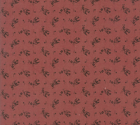 Moda Sweet Blend Prints Swallows Icing 42294-15