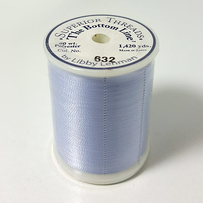 The Bottom Line Thread 632 Light Periwinkle Superior Threads