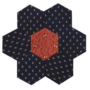 Mystery Hexagon Quilt Part 11