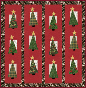 12 Weeks Of Christmas Free Christmas Tree Quilt Pattern