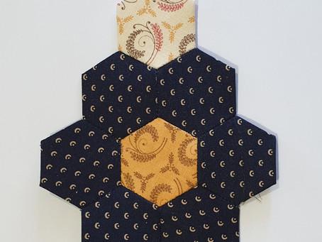Mystery Hexagon Quilt Part 7A