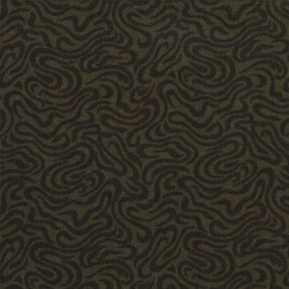 Pheasant Hill Olive Green - Wide Back Kansas Troubles Moda Fabrics