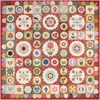 Antique Sampler Quilt Pattern Sue Daley Designs English Paper Piecing Pattern
