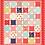 Thumbnail: Fun Flowers Quilt PDF Pattern