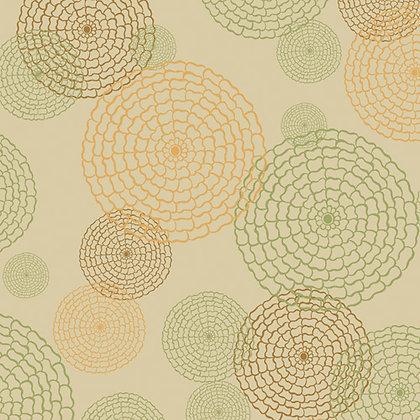 Art Gallery Fabrics Alhambra Palace Floral Drops Salmon Pat Bravo AH-127
