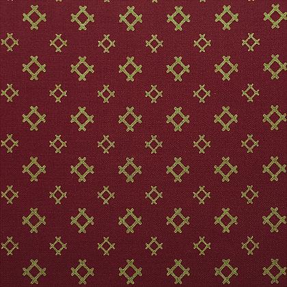 Japanese Prints Kasuri Burgundy 2310-1E lecien