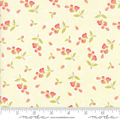 Coney Island posies Ice Cream fig tree moda fabrics