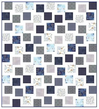 Bendigo Blues Quilt PDF Pattern