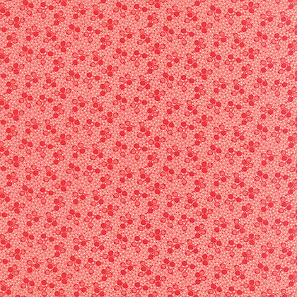 Little Ruby Coral Red Tulips Bonnie and Camille 55133-13 Moda fabrics