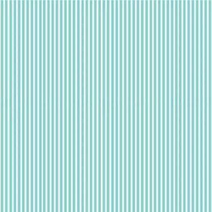 Mini Fun Fair Stripe Blue Mellie & Me MFF7015-B