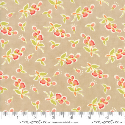Coney Island Posies boardwalk fig tree 20282-18 moda fabrics