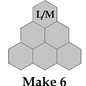 Free Mystery Hexagon Quilt Part 2