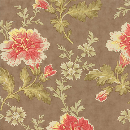 Autumn Lily blackbird designs 2740-17 moda fabrics brown